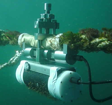 Sub-sea tension logger deployed on a mooring line